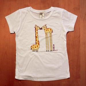 Image of Eye to Eye Giraffes Toddler T-Shirt
