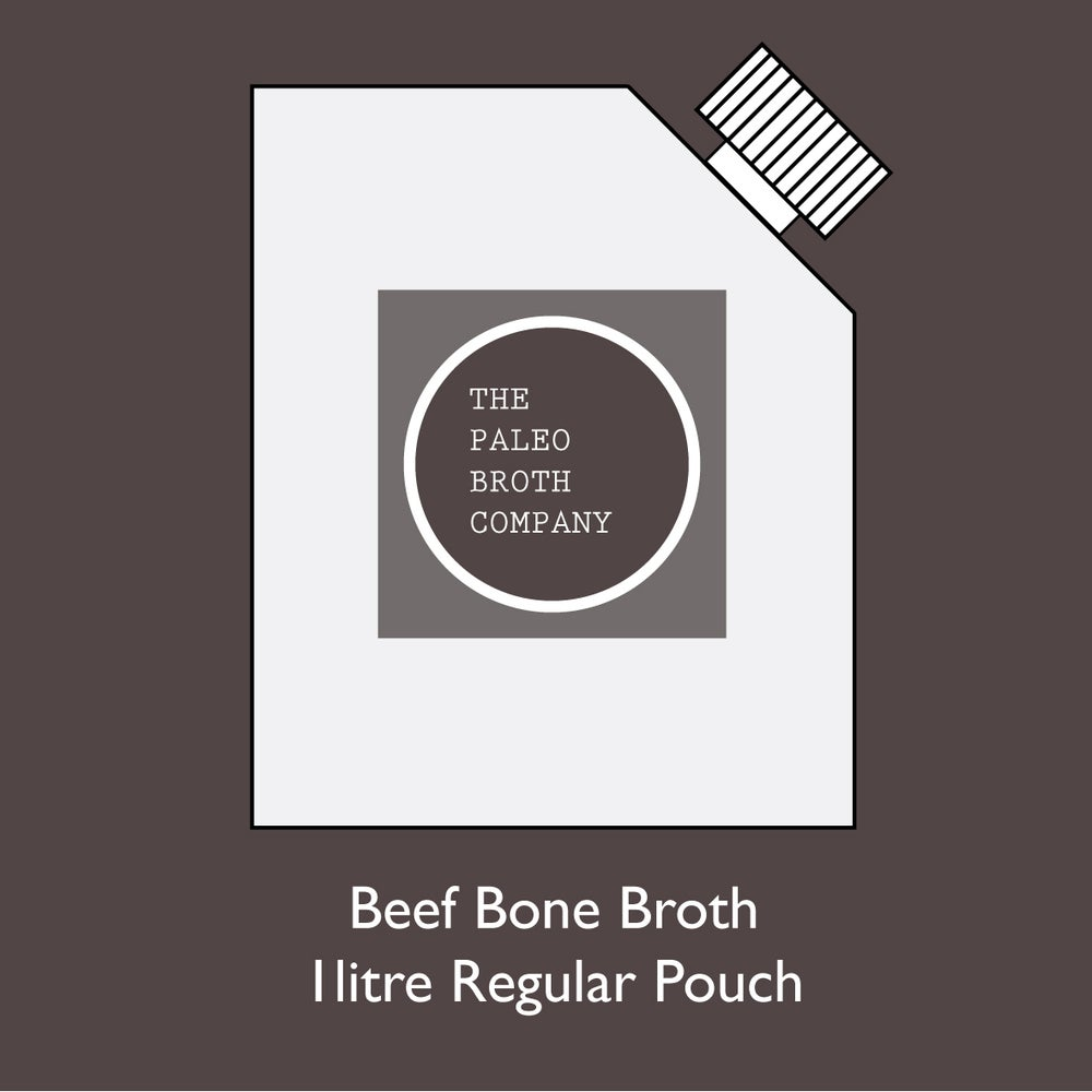 Image of Beef Bone Broth - Regular 1lr Pouch