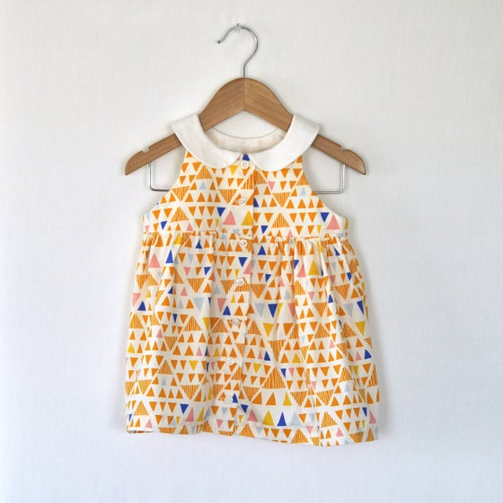 Image of the joan button front dress