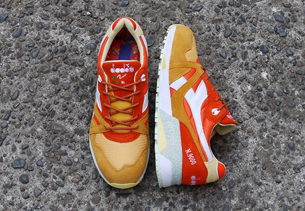 "Image of  Diadora N.9000 MITA ""Aperitivo"" size 9 JAPAN RELEASE LIMITED"
