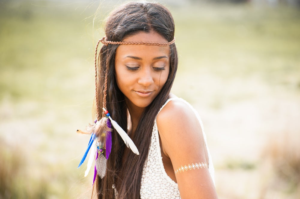 Image of Aiyana Feather Headdress - Bright colours