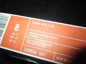 """Image of Zoom Vick II (2) iD """"Red/White"""""""