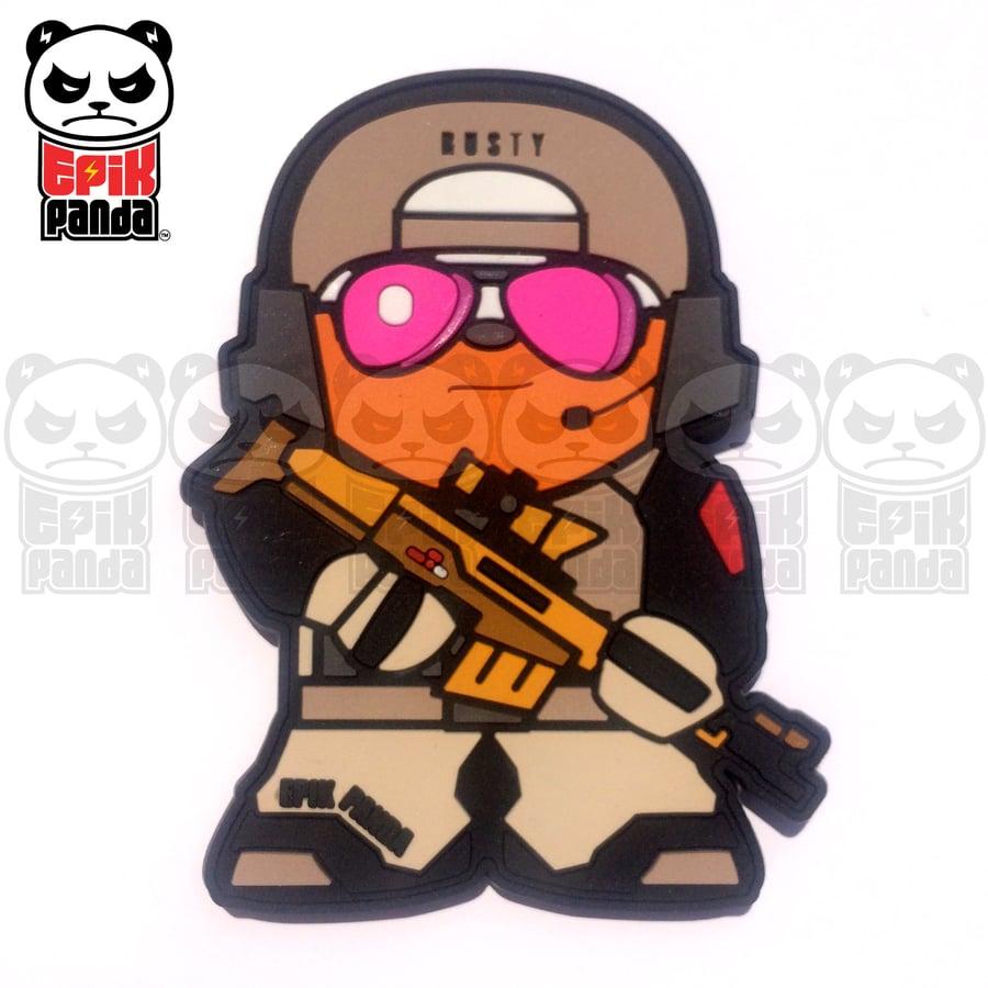 Image of Rusty (Battlefield Panda)