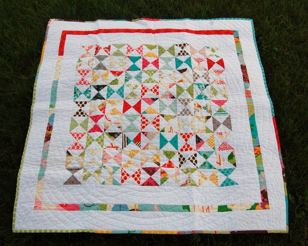 Image of Summer Baby Quilt