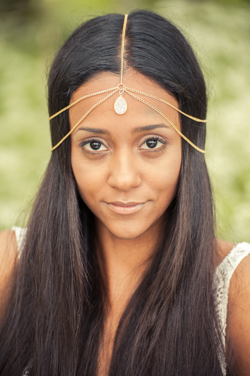 Image of Santorini Head Chain Gold