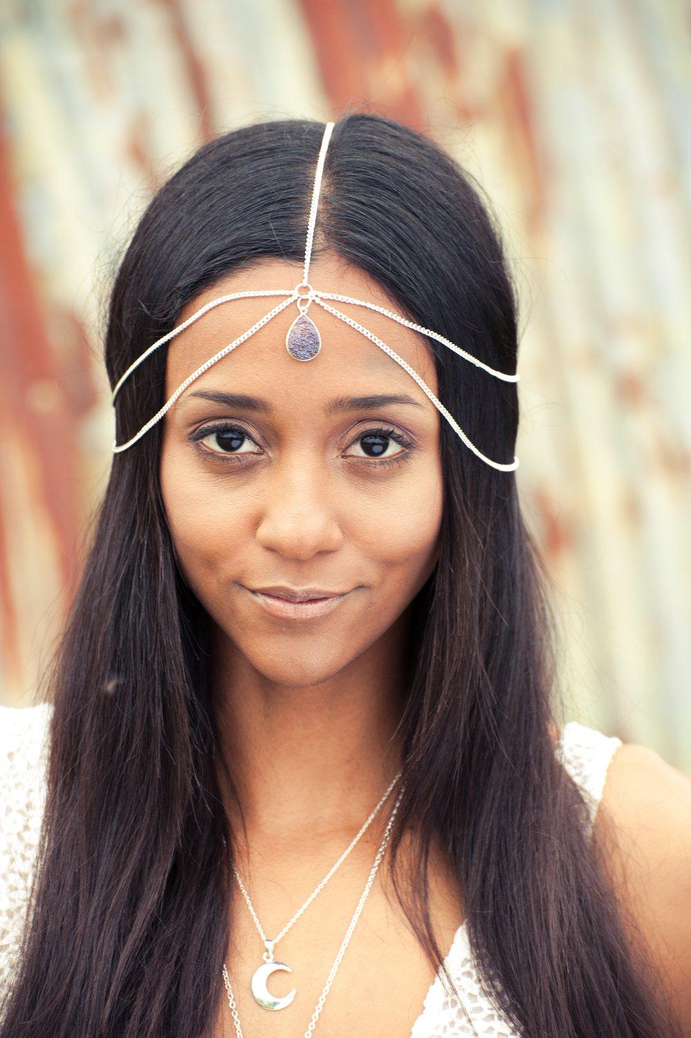 Image of Bali Head Chain Silver