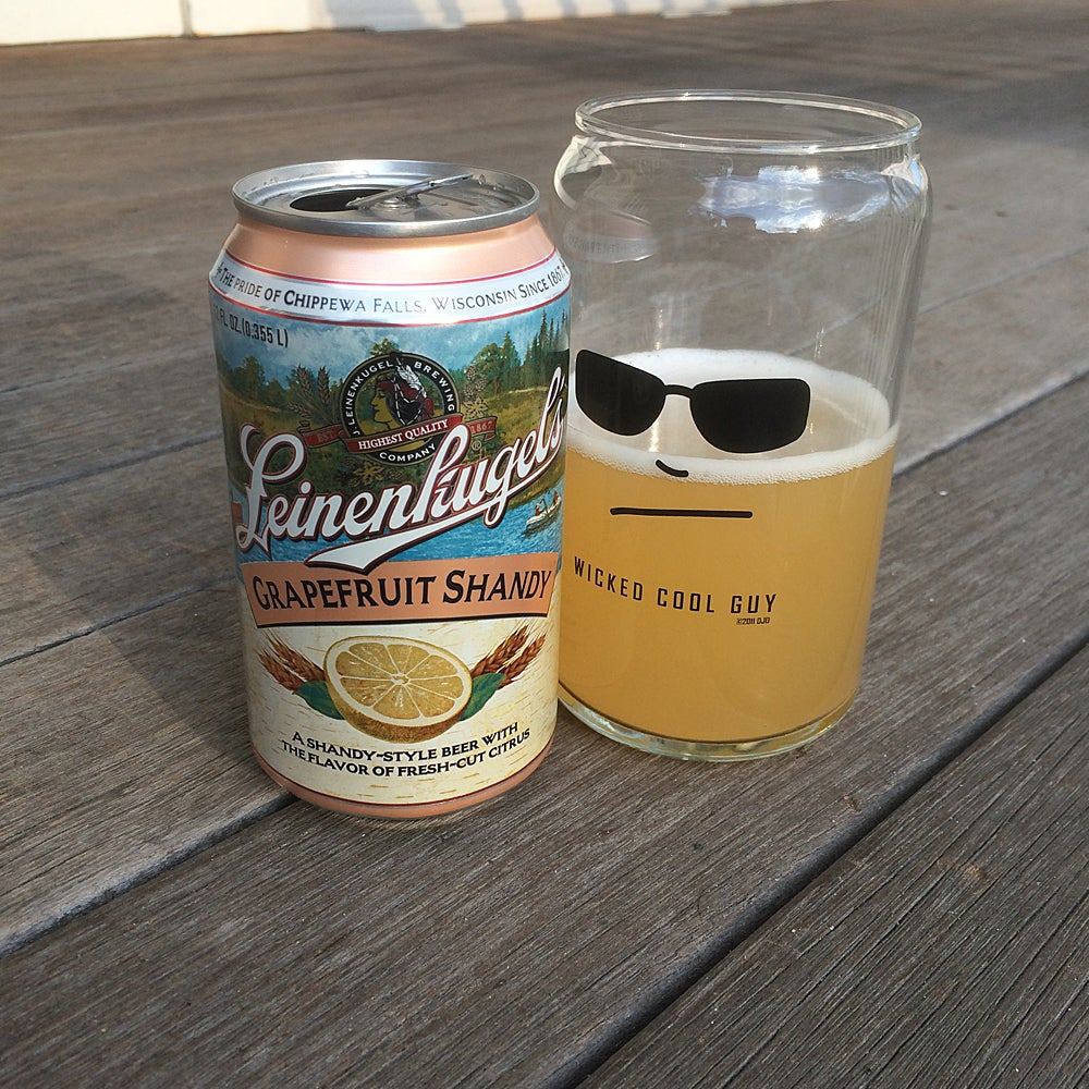 Image of 16-oz. Beer Can Glass