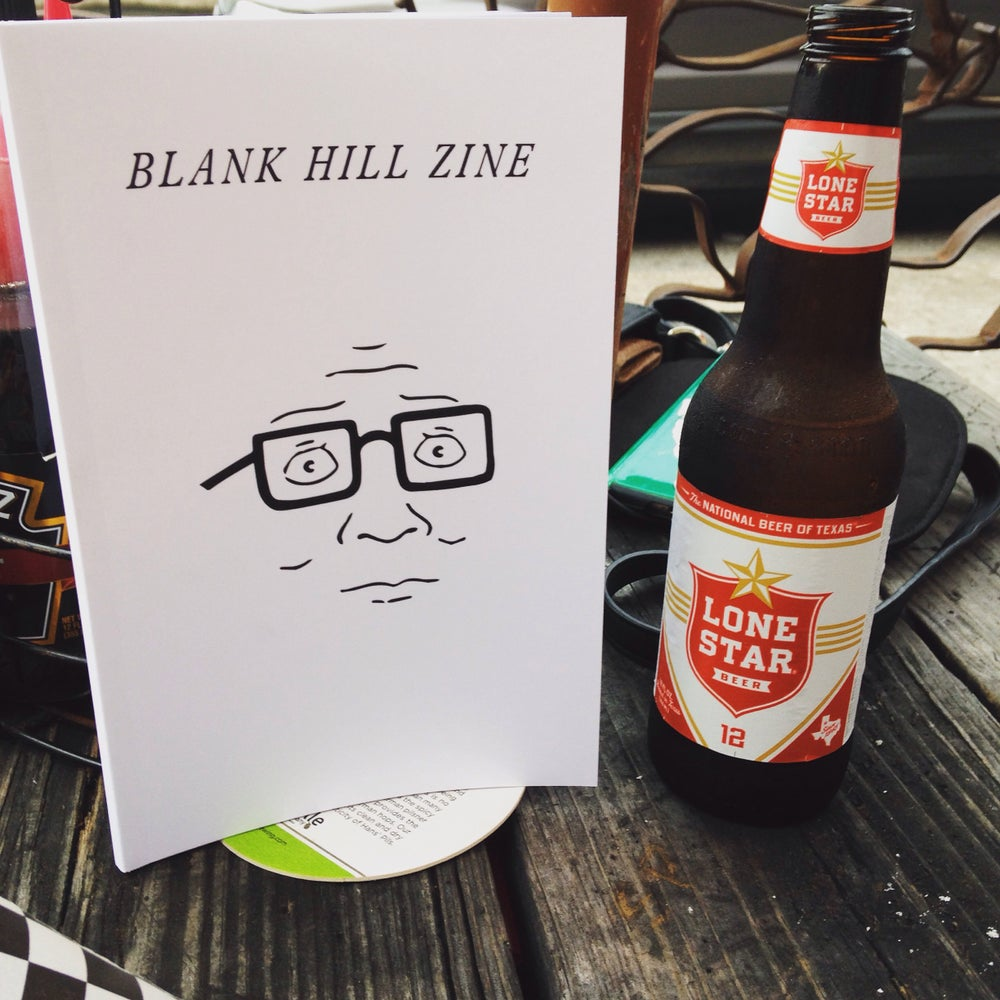 Image of Blank Hill Zine