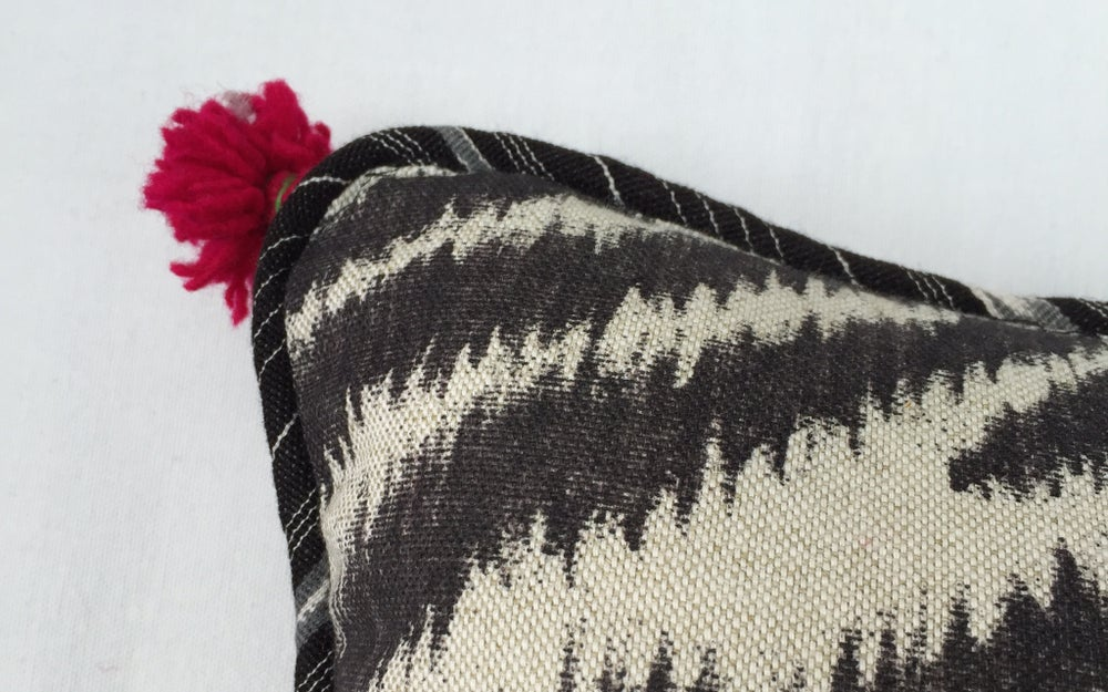 Image of Boho Modern Ikat Pillow