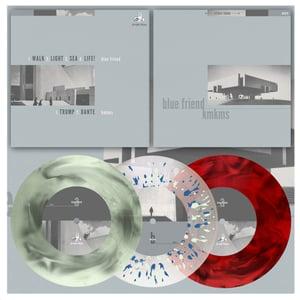 "Image of DK079: Blue Friend / KMKMS - Split 7"" EP - Three Colourways /100/200/300"