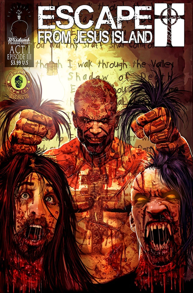 Image of Escape From Jesus Island comic book, Episode #3