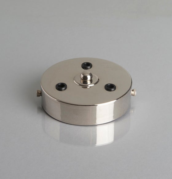 Image of 3 Hole Cord Grip Ceiling Rose