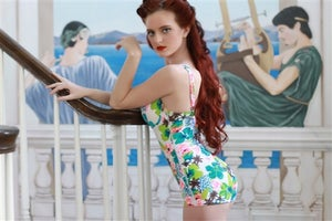 Image of Bessie No Waist Slimming Swimsuit