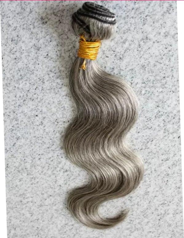 Image of Grey Brazilian  Body Wave