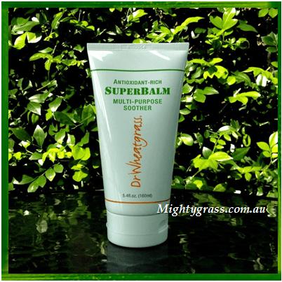 Image of Dr Wheatgrass SuperBalm Multi Purpose Soohter & Skin Repair