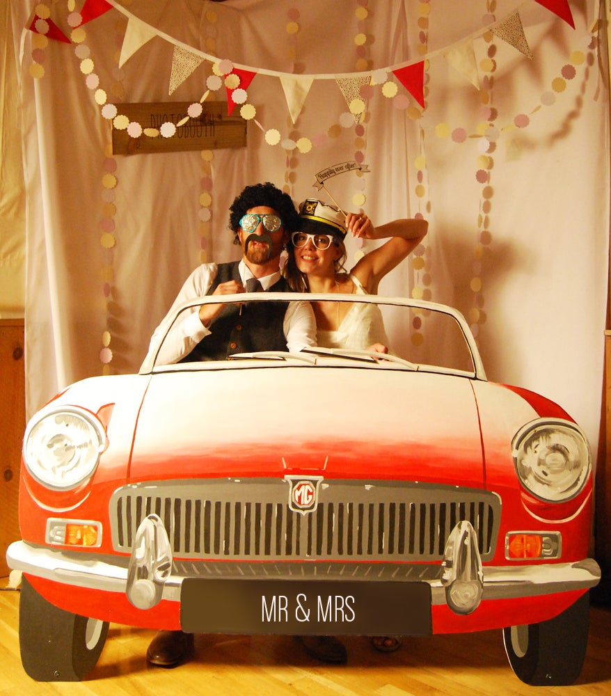 Image of Car Photobooth... FOR HIRE / £75 A DAY