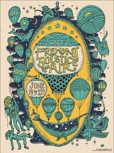 Image of Fremont Solstice Fair 2015 Poster