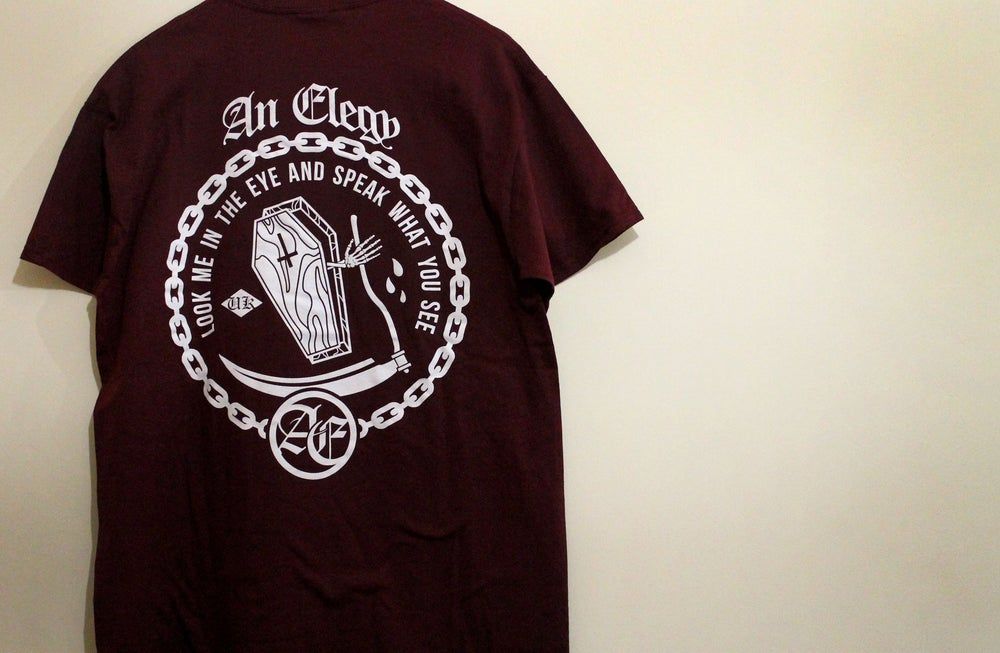 Image of GHOST T (Maroon)