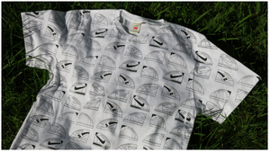 Image of 'ALL OVER TRAINERS' TEE
