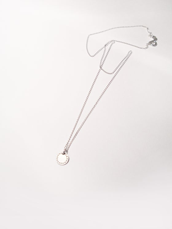 Image of DOT NECKLACE: BLOSSOM (STAINLESS STEEL)