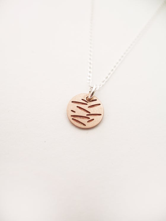 Image of DOT NECKLACE: POLLEN (COPPER)
