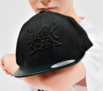 Image of LEATHER BRIM SNAPBACK
