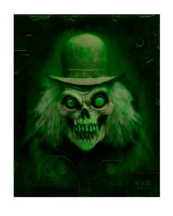 "Image of ""Mr. Grins"" (Green) Limited Edition print"