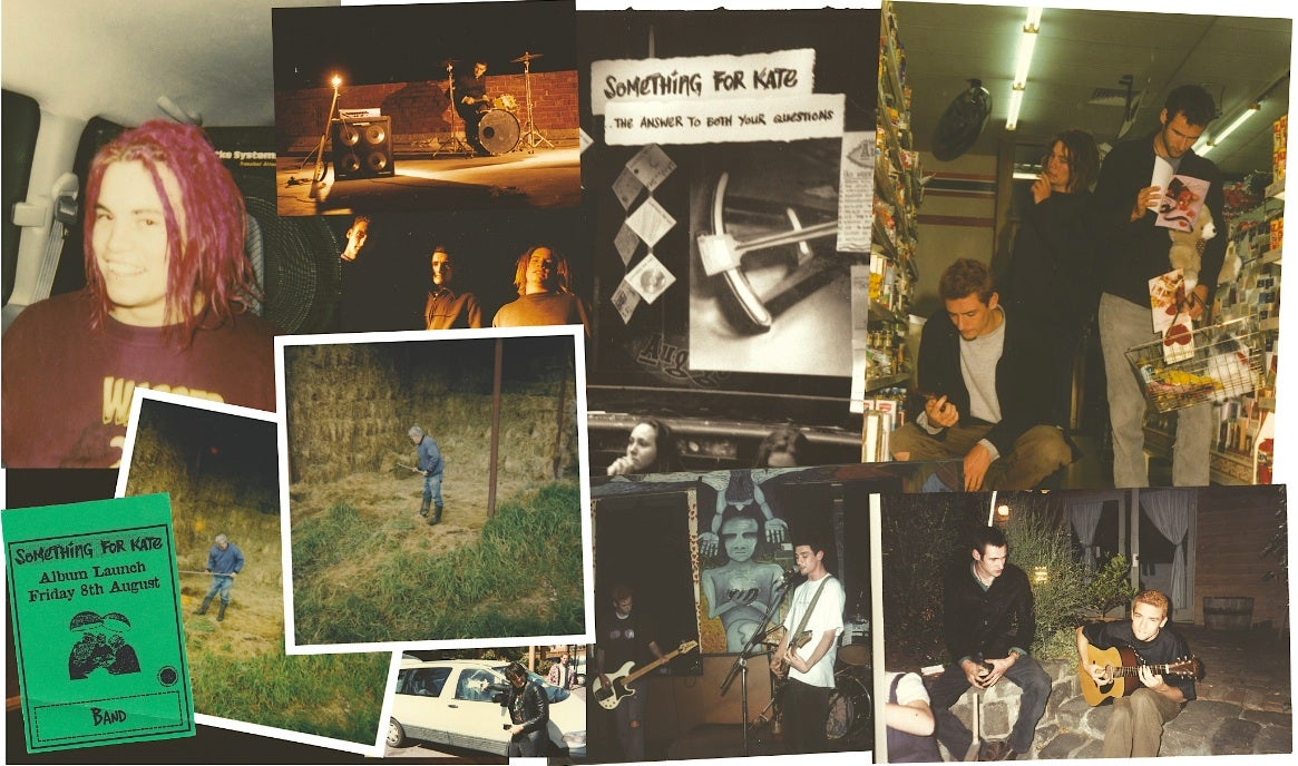 Image of SFK Book - 'Paper Trail: 20 Years of Something for Kate'  in book/manual format.  Signed/Unsigned