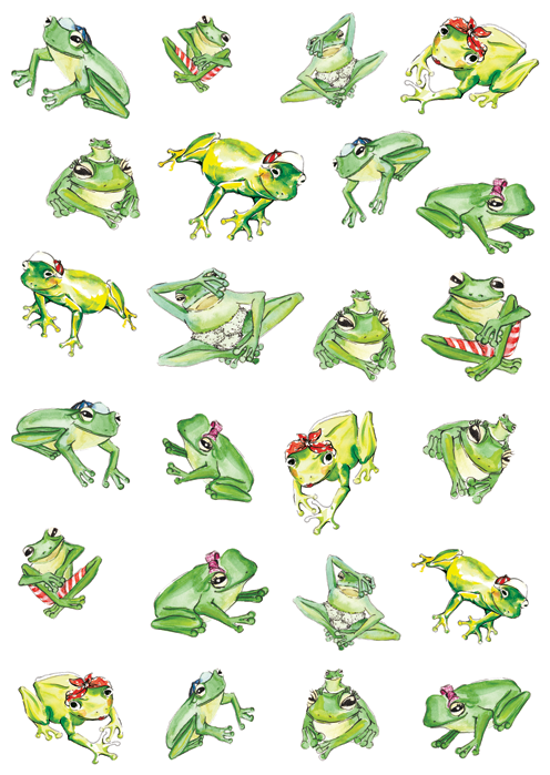 Image of Friendly Frogs