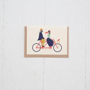 Image of Greeting Card | Love Tandem