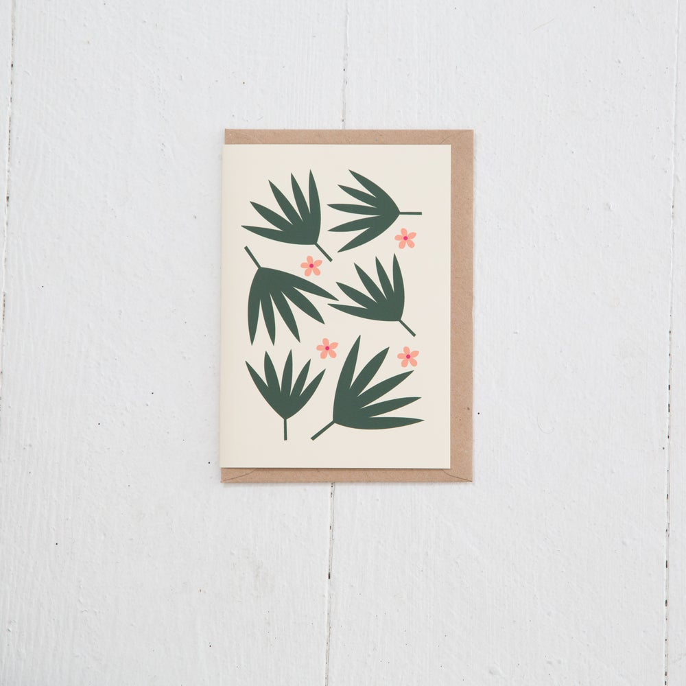 Image of Greeting Card | Palmiers