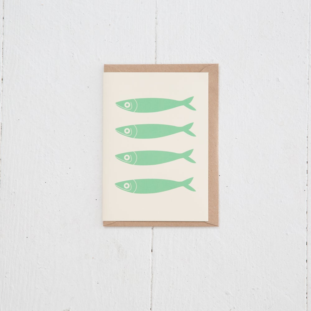 Image of Greeting Card | Sardines