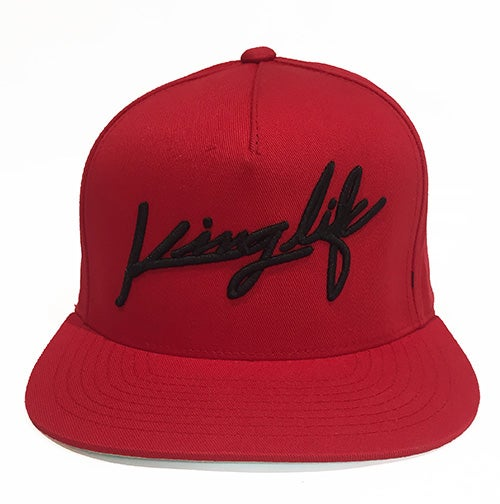 Image of RED KINGLIFE SNAPBACK