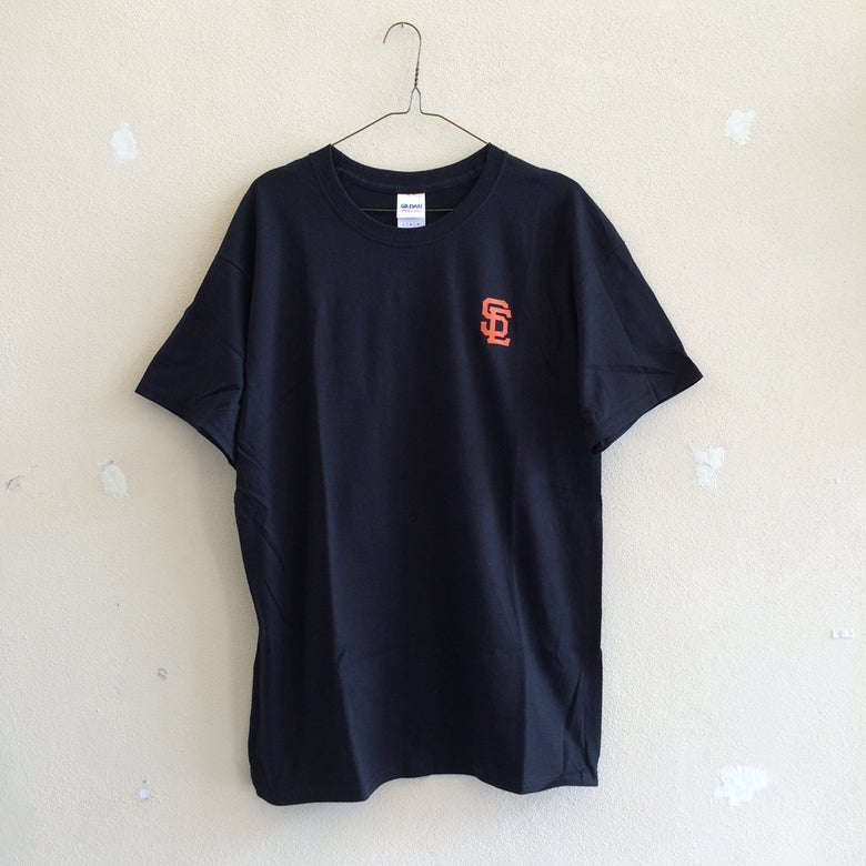 Image of SC Tee - Black/Orange