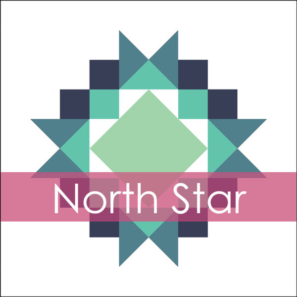 Image of North Star Mini Quilt #116, PDF