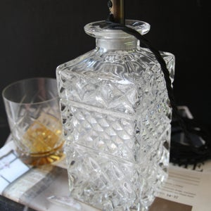 Image of Lead Crystal Decanter Lamps