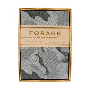 Image of camo {handkerchief}