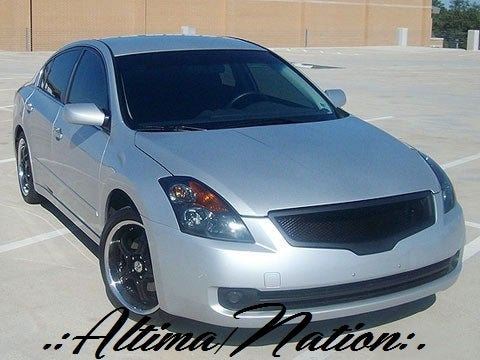 Image of (L32A) 07-09 Altima Sedan Front Sports Mesh Grill