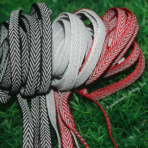 "Image of Exclusive ""3M"" Custom Flat Laces (3 Colorways)"