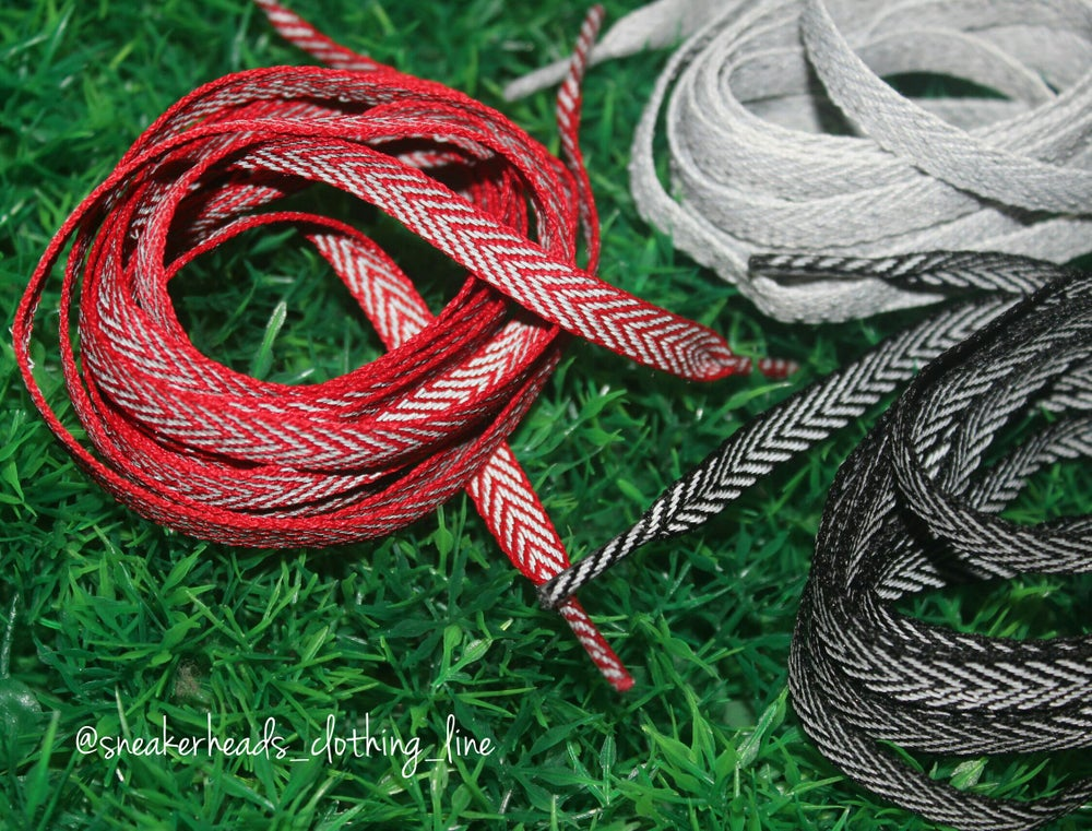 """Image of Exclusive """"3M"""" Custom Flat Laces (3 Colorways)"""