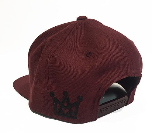 Image of BURGUNDY KINGLIFE SNAPBACK