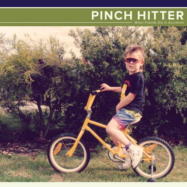 Image of DISTRO: Pinch Hitter - When Friends Die In Accidents LP (black vinyl)