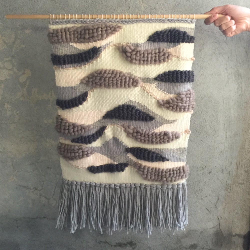Image of HANDMADE LARGE WALL WEAVING 20