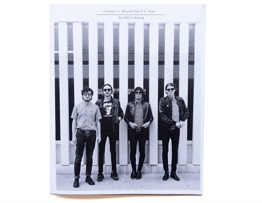 """Image of """"MAXED OUT"""" U.S.A. TOUR ZINE"""