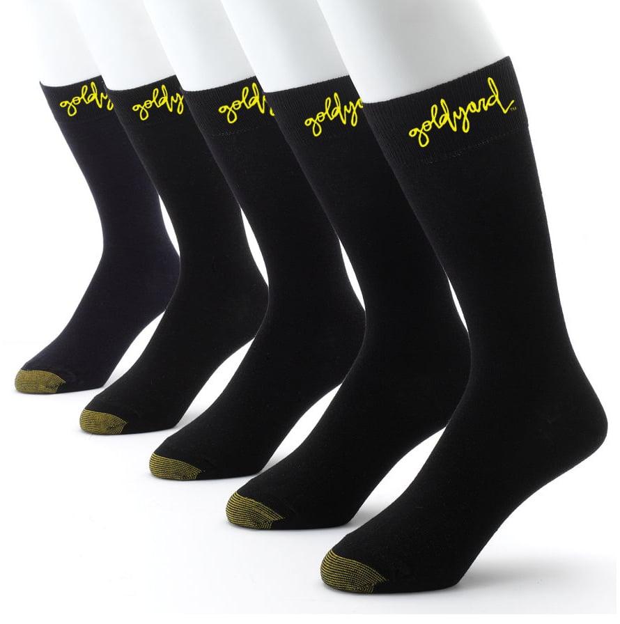 """Image of Goldyard """"Gold Toe"""" Logo Socks"""