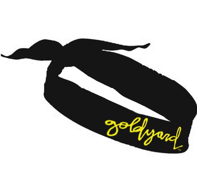 Image of Goldyard Logo Bandana