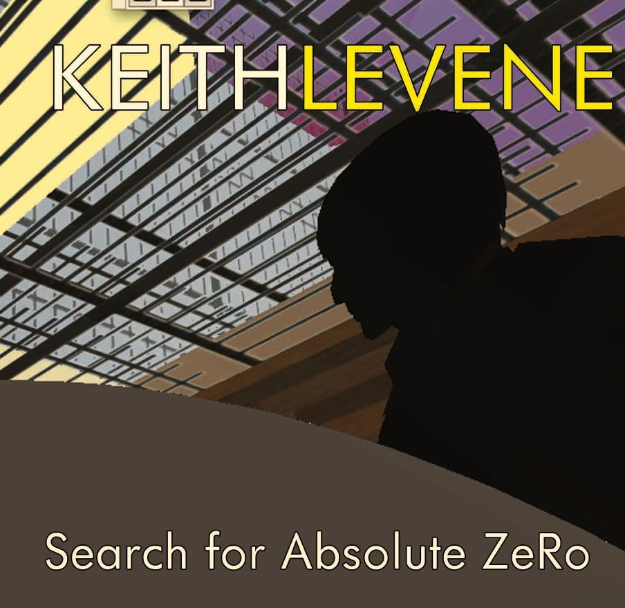 Image of Keith Levene - Search For Absolute ZeRo Double LP (FRP2LP004)