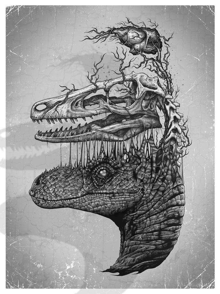 Image of 'VLCRPTOR' Giclee Print