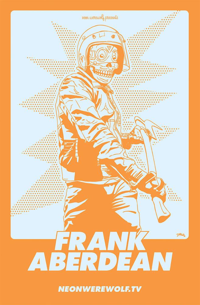 Image of Frank Aberdean - Silkscreen Print by James Zdaniewski