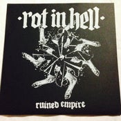 Image of ROT IN HELL Ruined Empire LP TEST PRESS